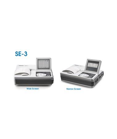 EDASE-3A-Three-Channel ECG Machine - narrow screen, wide screen