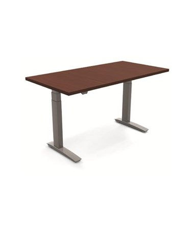 ESI BeneFIT Series Premium Electric Adjustable Table Base for Small Equal Corner Work Surfaces (Rectangular Work Surface shown, Work Surface not included)