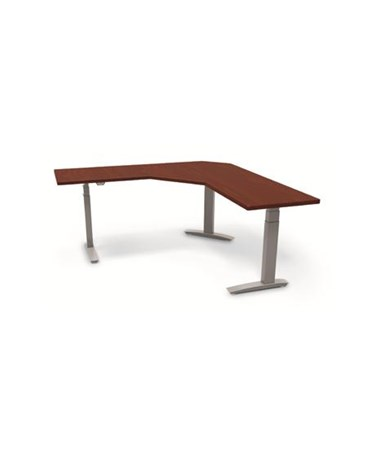 ESI BeneFIT Series Premium Electric Adjustable Table Base for 90° Corner Work Surfaces