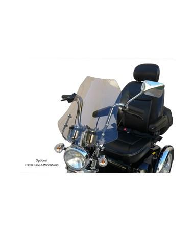 Windshield:  Shield Shape / Lt Sepia Tint EVRMAI-00534