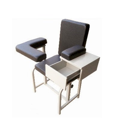 FMPA1 Blood Drawing Chair - open drawer
