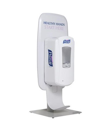 Gojo Purell Touch Free Table Top Stand