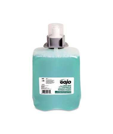 GOJO 5263-02 Green Certified Foam Hand, Hair & Body Wash