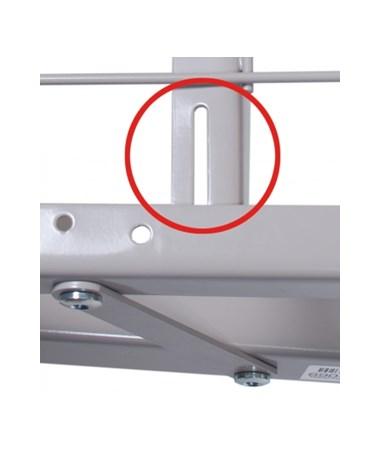 Patent pending rail slots