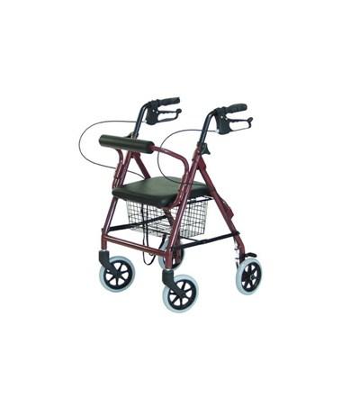 Walkabout Junior Four-Wheel Rollator GEJ4301R