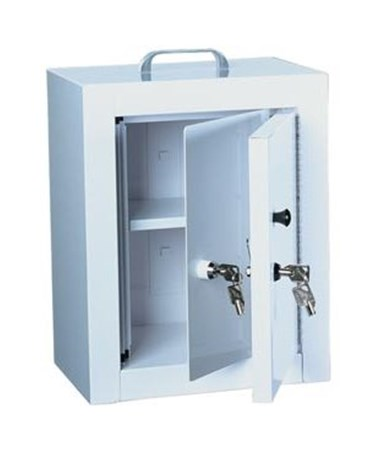 HAR2710- Standard Line Narcotics Cabinet with Double Lock - Double Door