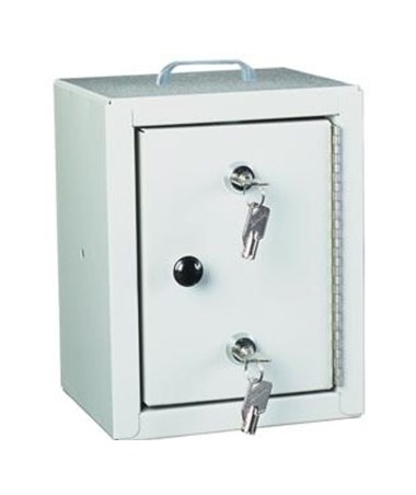 HAR2710- Standard Line Narcotics Cabinet with Double Lock - Single Door
