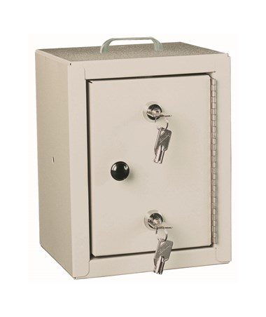 Small Double Lock Narcotics Cabinet HAR2710