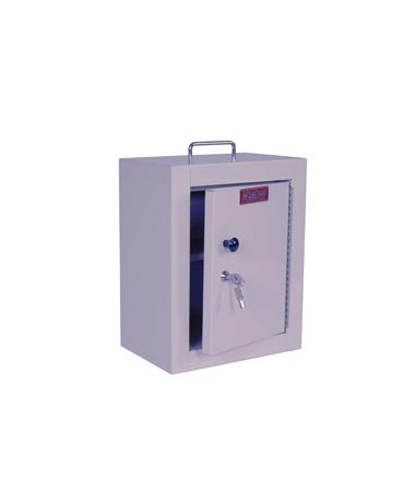 Harloff 2721 Medium Single Door Single Lock Narcotics Cabinet.