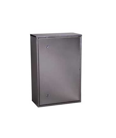 Harloff Stainless Steel Large Double Lock Narcotics Cabinet.