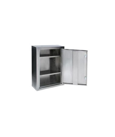 Harloff 2732 Narcotics Cabinet with open door.