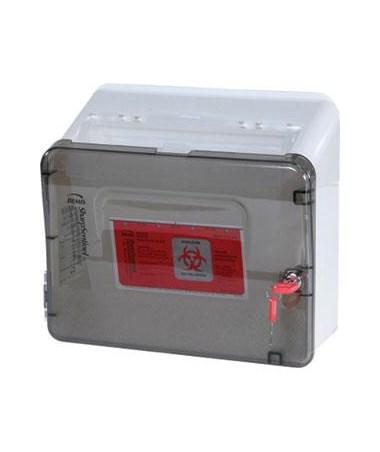 Harloff Replacement Locking Sharps Box