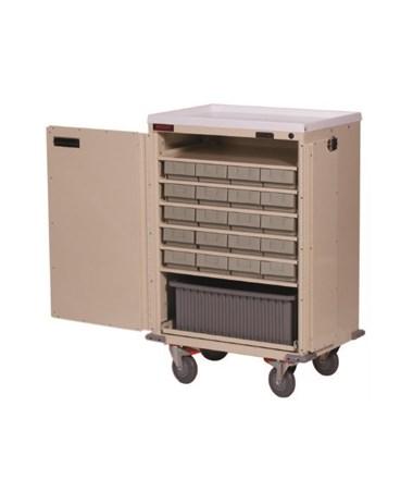 Bin Treatment Cart with Locking Doors HAR6220-