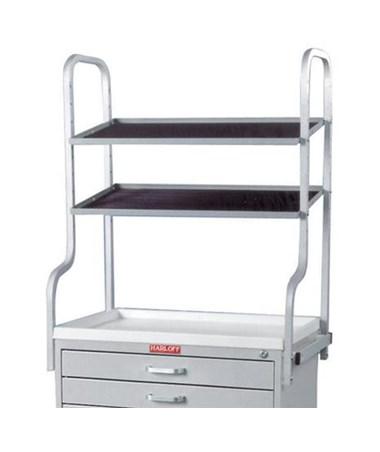 Harloff Tall Overhead Shelf Support Set