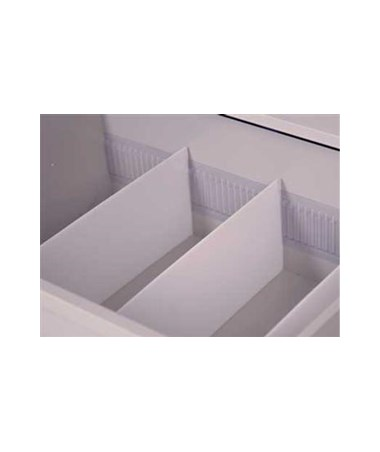 Harloff Replacement Vinyl Divider Strip for Punch Card Drawers