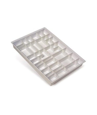 Harloff Drawer Divider Tray Pack for Classic, E-Series and OptimAL Carts