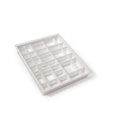 Harloff Drawer Divider Tray Pack for GP Line, OptimAL and Standard Line 3W Carts