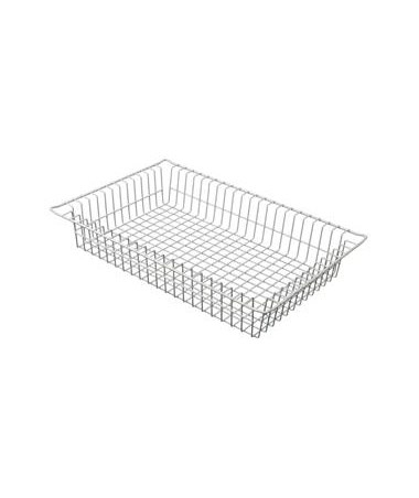 "Harloff 4"" Wired Basket for Mobile Medical Storage"