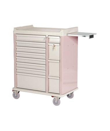 HARAL294BOX- OptimAl™ All-Alluminum Medication Box Cart - 210 Boxes storage capacity