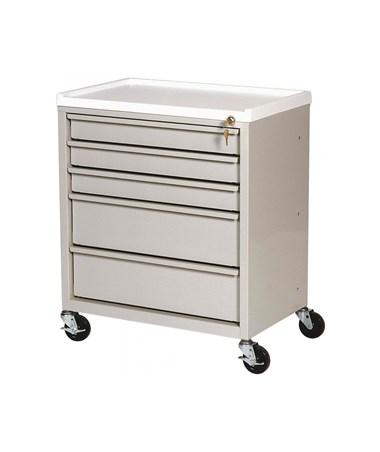 ETC Line Five Drawer Treatment Cart HARETC-5-