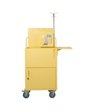 Compact Open Well Isolation Cart HARISO6548
