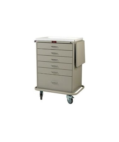 Classic Line 50 Multi-Dose Tall Medication Cabinet HARMD50-6K-