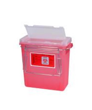 MR-Conditional Bemis Sharps Container with Bracket HARMR-3GSHARPS