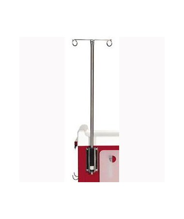 2 Prong IV Pole for MR-Conditional Carts HARMR-IV2
