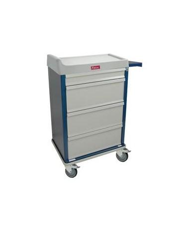 Harloff Standard Line Single Column 360 Punch Card Medication Cart