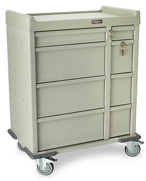 Standard Line Dual Column 480 Punch Card Medication Cart HARSL480PC-