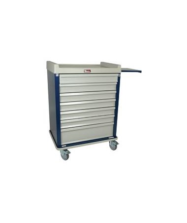 Standard Line Single Column 60 Multi-Dose Medication Cart HARSL60MD-