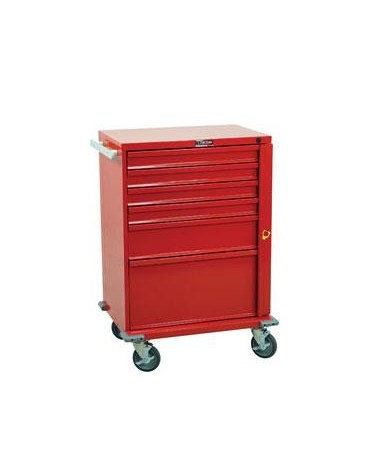 Harloff V-Series Six Drawer Crash Cart Standard Package