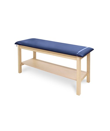H-Brace Treatment Table With Shelf