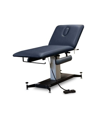 2-Section Hi-Lo Treatment Table with Armrests and Adjustable Glides HAU6071