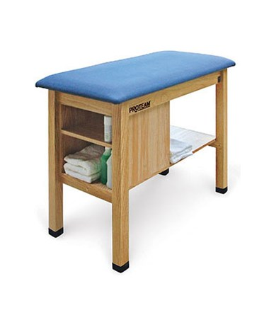 H-Brace Taping Table with End Cabinet HAUA9097