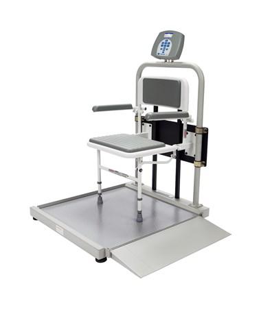Digital Wheelchair Scale with Foldaway Seat HEA2500CKL