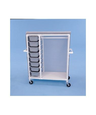 Garment Sliding Drawer Cart HMPGDC488W5-