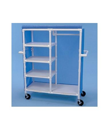 Garment Shelf Cart HMPGSC484W5