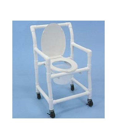 PVC Wheeled Commode HMPWCC6013P