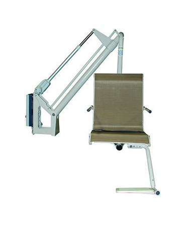 Bolt-Mounted Residential Pool Lift HMRP-350