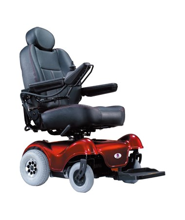 Rumba S Mid-Wheel Drive Power Chair HRTHP4-20-