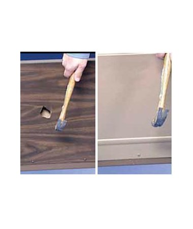 Difference between fiberboard and Invacare Bed End