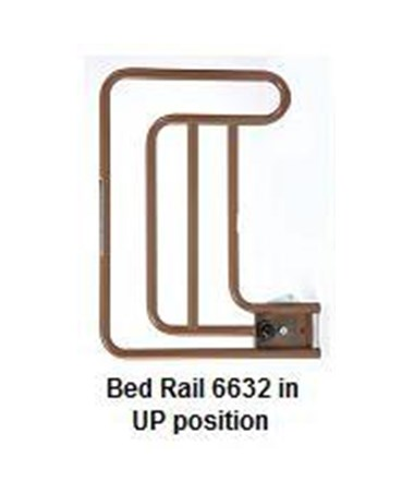Assist Bed Rail in 'Up' Position