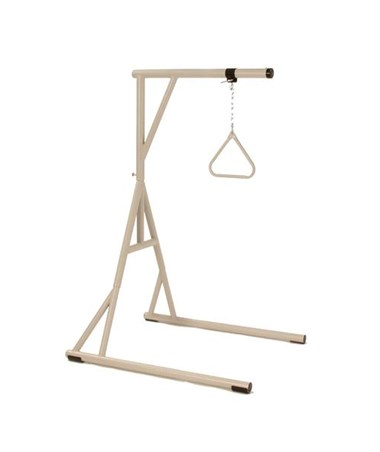 Bariatric Floor Stand with Trapeze INVBARTRAP