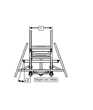 ProBB Rear Profile Wheelchair