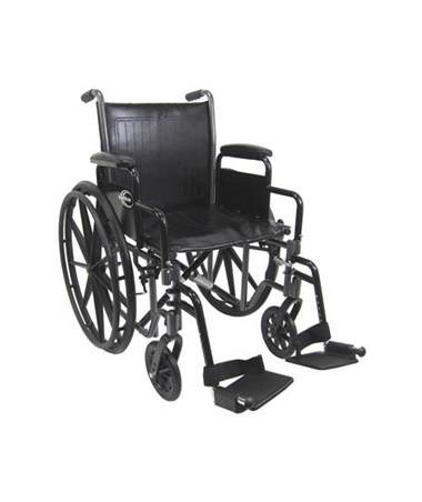 Standard Detachable Arms Wheelchair KARKN-700T-