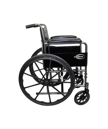 Karman Standard Fixed-Arm Wheelchair Side View