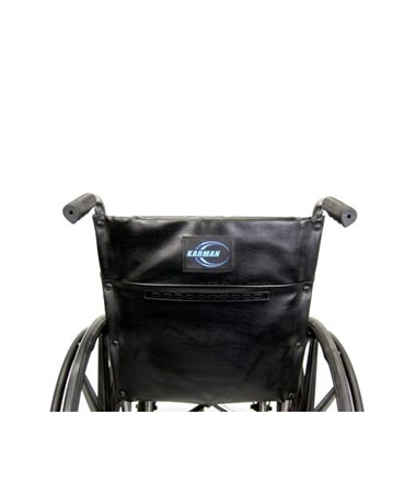 Karman Standard Fixed-Arm Wheelchair Rear View