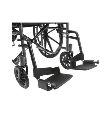 Karman Standard Fixed-Arm Wheelchair Footrests