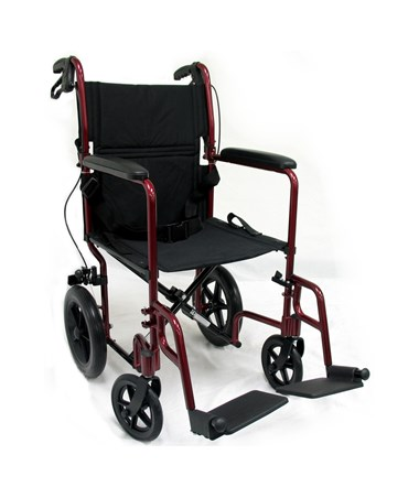 LT-1000 Rear Wheel Transport Wheelchair
